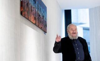 FOTOD | EMTAs esitleti Lembit Ulfsakile pühendatud Leonhard Lapini maali