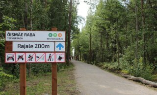 На болоте Ыйсмяэ открыли тропу здоровья за 800 тысяч евро