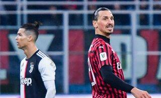 Kogenud jalgpallitreener: Ibrahimovicil on Itaalias suurem mõju kui Ronaldol