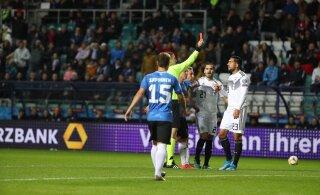 Eesti jalgpallikoondis lasi käest sajandi võimaluse