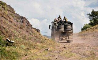 На линии соприкосновения Нагорного Карабаха и Азербайджана начались боевые действия