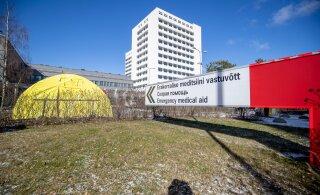 Эстонские больницы еще в январе готовились к COVID-19