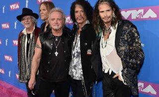 KLÕPS | Skandaalne trummar Joey Kramer astus Aerosmithiga taas lavale