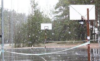 VIDEO ja FOTOD | Eestit on tabanud lumesadu. Riigis on korraga suvi ja tali