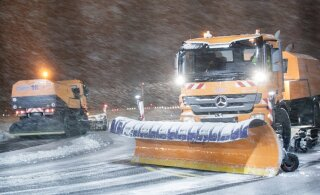 На Финляндию обрушился снегопад. А ждать ли в Эстонии похолодания?