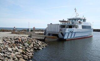 Ruhnu laevuke Runö navigeeris end tundmatu objekti vastu sõidukõlbmatuks