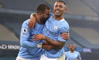 21 võit järjest! Manchester City juhib Inglismaal juba 15 punktiga
