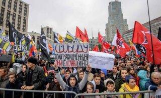 Россиянин попросил политического убежища на Украине из-за преследования за акции протеста