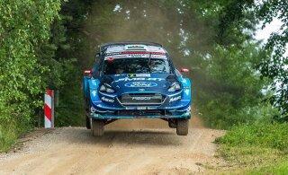 VIDEO | WRC avaldas video Evansi karmist hüppest Rally Estonial, mis jätab ta Soome rallist kõrvale