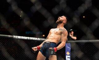VIDEO | Soome UFC täht pani võitlussaarel vastase magama anakonda-kägistusega