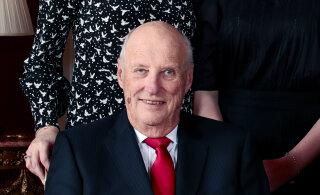 Hingamisraskustega haiglasse viidud Norra kuningas sai kodusele ravile