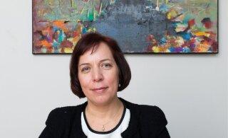 """Министр образования Майлис Репс обратилась к начинающим сдавать госэкзамены. """"В этом году экзамен по эстонскому языку — особенный"""""""