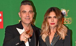 Kes palju teeb, see palju jõuab! Robbie Williams sai neljandat korda isaks