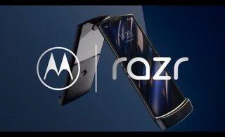 ВИДЕО: Motorola представила смартфон-раскладушку RAZR с гибким дисплеем