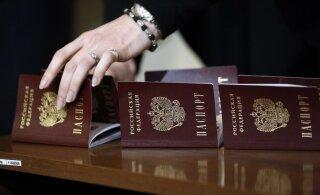 """""""Luganski rahvavabariigis"""" algas dokumentide vastuvõtt Vene kodakondsuse saamiseks"""