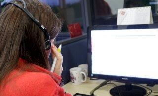 С 1 января изменится номер телефона Таллиннский городской помощи