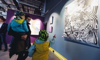 ФОТО DELFI: В Пыхья-Таллине в районе Ноблесснера открылась новая кафе-галерея