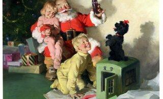 Kuidas on Coca-Cola jõulureklaamid mõjutanud jõuluvana välimuse kujunemist?