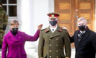FOTOD | Kaitseväe juhataja Martin Herem sai kindralleitnandi auastme