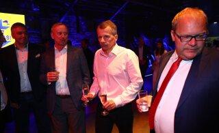 ОНЛАЙН-БЛОГ | Кандидаты в евродепутаты ожидают результаты выборов: пьют, едят, танцуют, курят кальян