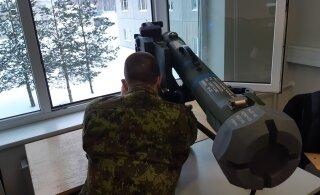 ФОТО | Смотрите, как эстонские военные осваивают новый противотанковый комплекс!