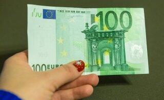 Клиент расплатился фальшивой купюрой в таллиннском такси