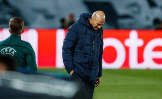 Zinedine Zidane šokk-kaotusest: minu töö on leida lahendus, kuid ma ei suutnud seda