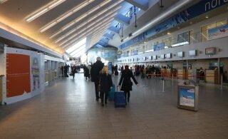 Молодой человек устроил в Таллиннском аэропорту дебош