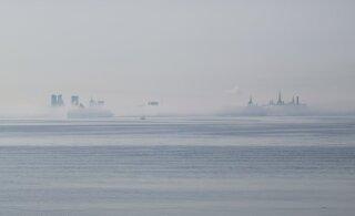 FOTOD | Tallinna laht mattus päeval sügavasse uttu