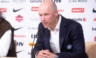 Воолайд продолжит тренировать сборную Эстонии по футболу