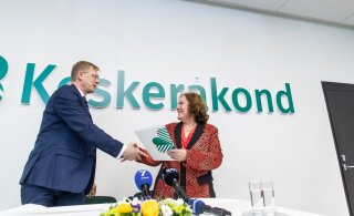 ФОТО | Изгнанная соцдемами Сяргава присоединилась к центристам и может стать вице-председателем Таллиннского горсобрания