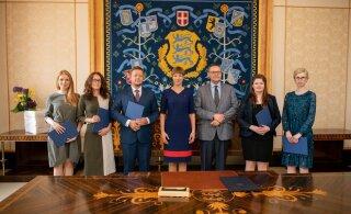 President Kaljulaid nimetas ametisse viis uut kohtunikku