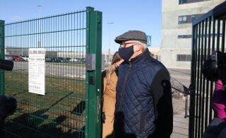 ФОТО | Подозреваемый в коррупции бизнесмен Хиллар Тедер вышел на свободу