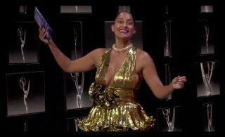 FOTOD | Sel aastal jagati Emmy'd kätte virtuaalsel teel, aga staarid leidsid siiski viisi end punase vaiba vääriliselt üles lüüa