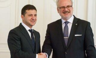 Зеленский встретился с президентом Латвии Левитсом и рассказал об ужасной цене независимости