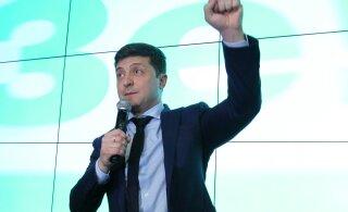 Ukraina valib presidenti, tõenäoliselt võidutseb koomik Zelenski