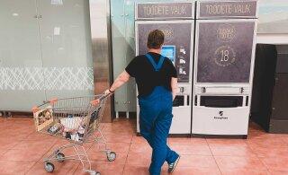 ФОТО | В Кейла для покупки сигарет установили уникальную кассу самообслуживания с системой распознавания лиц