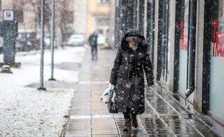 В последней декаде ноября в Эстонию придет снежная погода, но ненадолго