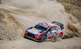 WRC tehasetiimidel keelati koroonakriisi ajal testimine