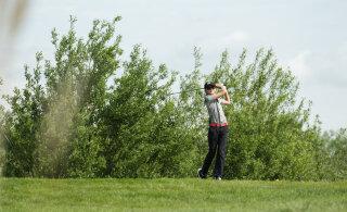 Eesti golfarid on EstAm avapäeva järel kõrges mängus