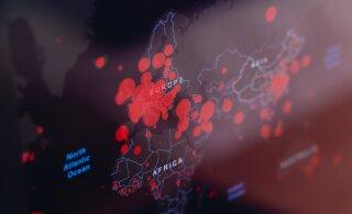 КАРТА | С 8 марта въезд в Эстонию без ограничений разрешен из 7 стран Европы