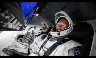 ПРЯМАЯ ТРАНСЛЯЦИЯ   Корабль Илона Маска с астронавтами NASA пристыковался к МКС