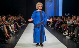 FOTOD JA VIDEO | Anne Veski modellina moelaval! Vaata siit Iris Janvieri moeetendust