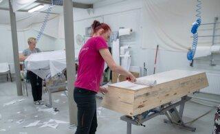 Земля пухом: в Финляндии гробы из Эстонии пользуются большой популярностью