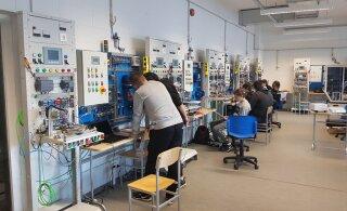 ФОТО: Представители управы посетили Ласнамяэское механическое училище. Здесь можно выучиться даже на евросварщика!