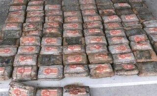 В Эквадоре конфисковали тонну кокаина, которую планировали отправить в Эстонию