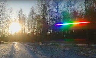"""Как """"поймать"""" свет и разложить его на спектр в домашних условиях?"""