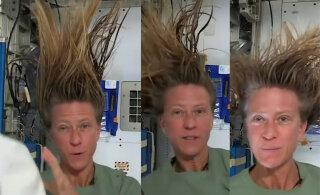 VIDEO | Kas teadsid? Vaata, kuidas astronaut avakosmoses triivides juukseid peseb