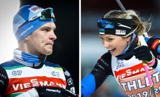 Названы лучшие биатлонисты Эстонии. Среди лауреатов есть и нарвитяне