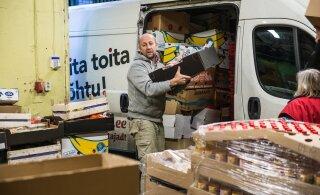 Üks Eesti kütusemüüjatest läks Toidupangale viimastel nädalatel kerkinud kütusekulude leevendamiseks appi